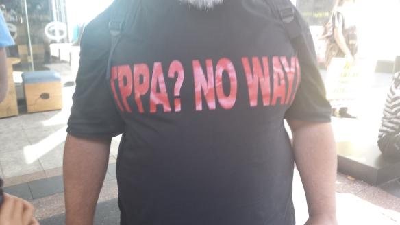 #TPPANoWay!