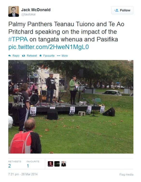 #TPPANoWay - Palmerston North