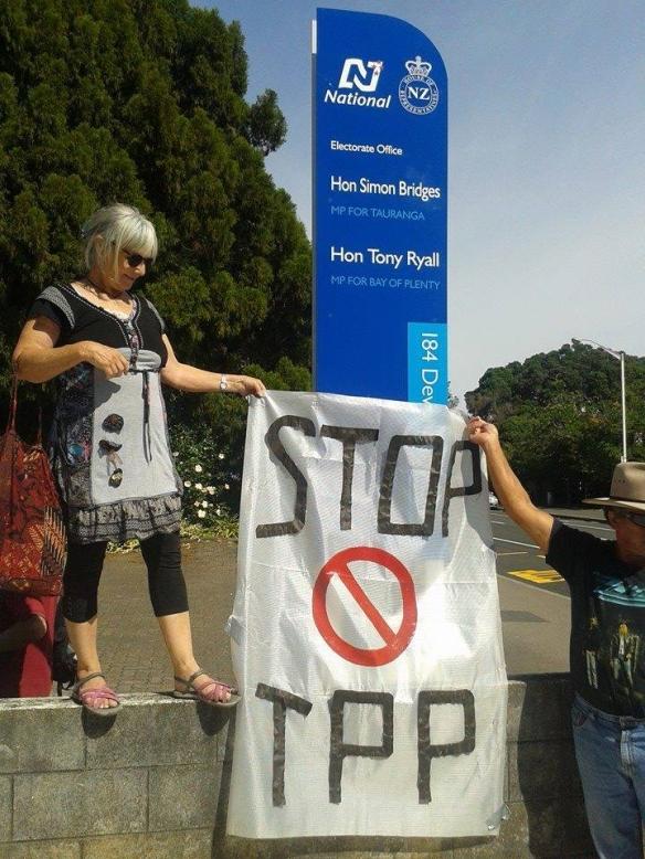 #TPPANoWay - Tauranga